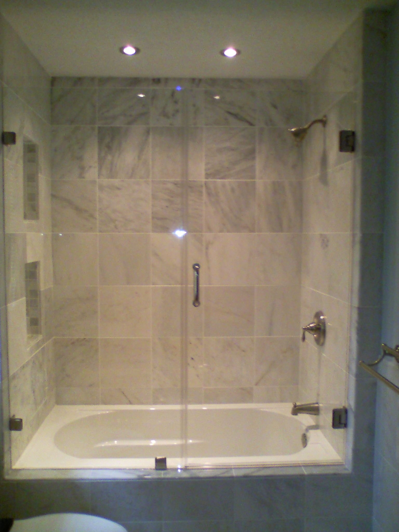 Heavy Glass Shower Doors All Sizes Even For Your Tubs Www