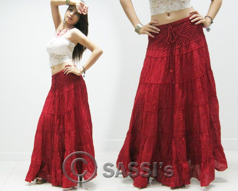 long summer skirts | size free size one size fits most
