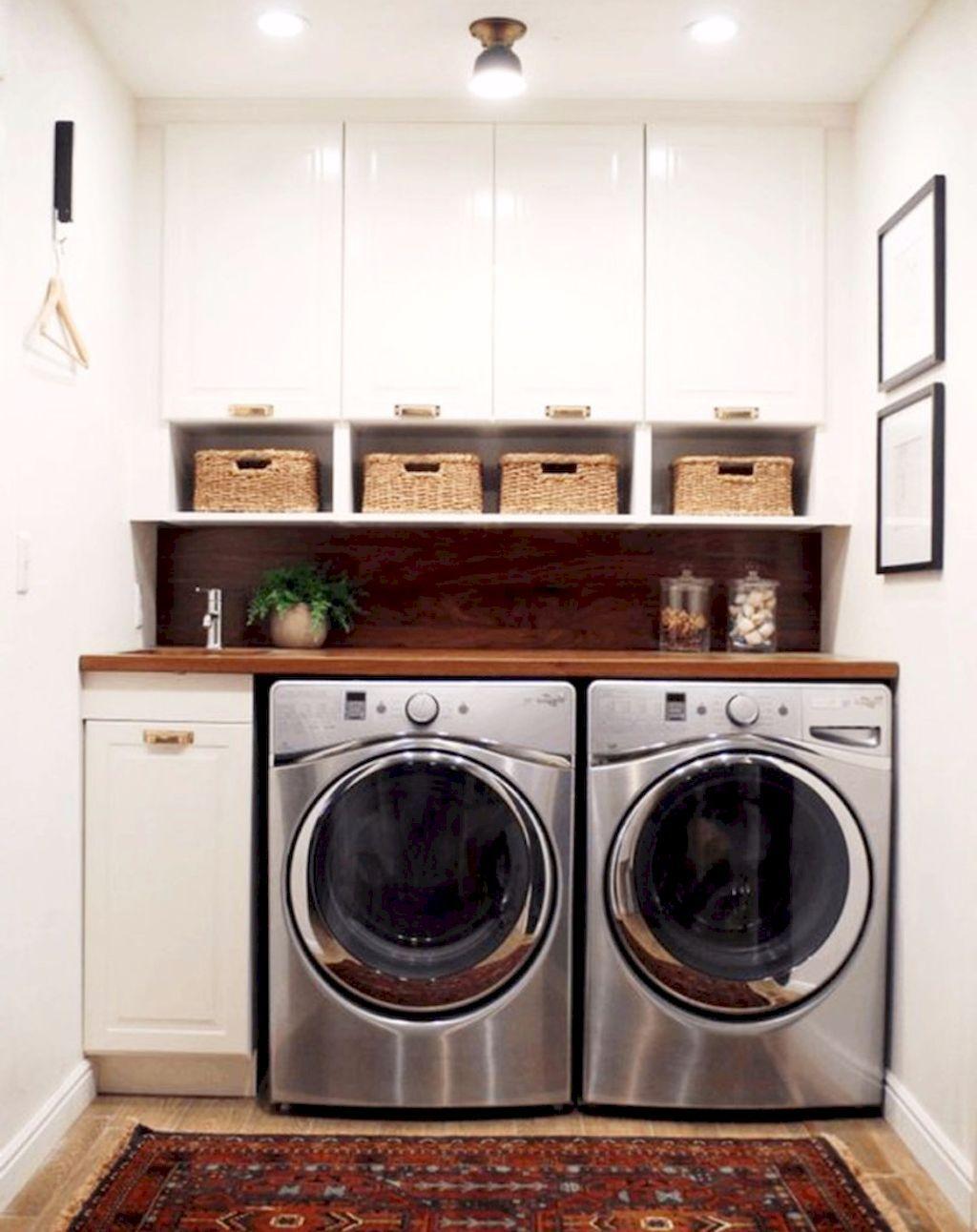 Cool 55 Smart Laundry Room Organization Ideas https