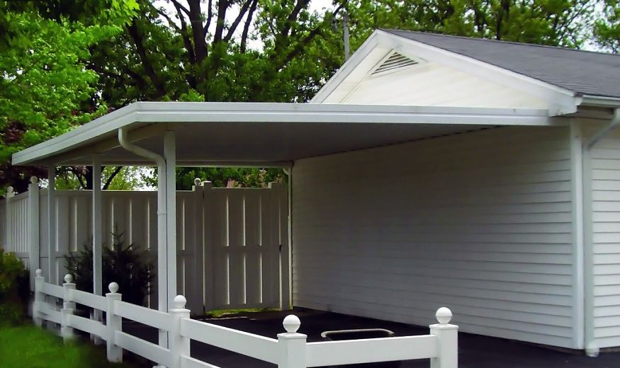 Aluminum Patio, Porch or Car Port Cover Southern States