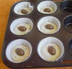 Kinderschokolade-Muffins von pinktroublebee   Chefkoch