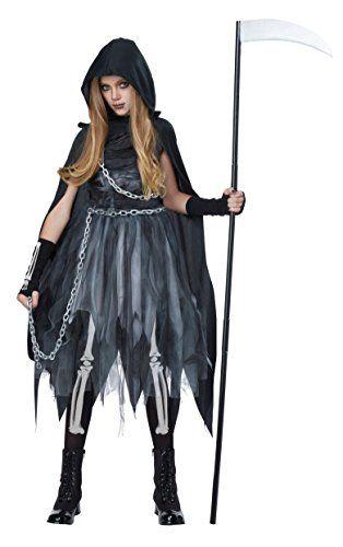 California Costumes Reaper Girl Costume Medium BlackGray * You can - teenage couple halloween costume ideas