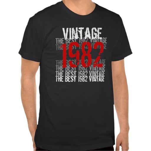 ==>>Big Save on          1982 Vintage - 30th Birthday Red Black White Tshirts           1982 Vintage - 30th Birthday Red Black White Tshirts we are given they also recommend where is the best to buyShopping          1982 Vintage - 30th Birthday Red Black White Tshirts lowest price Fast Ship...Cleck Hot Deals >>> http://www.zazzle.com/1982_vintage_30th_birthday_red_black_white_tshirt-235083761902269589?rf=238627982471231924&zbar=1&tc=terrest