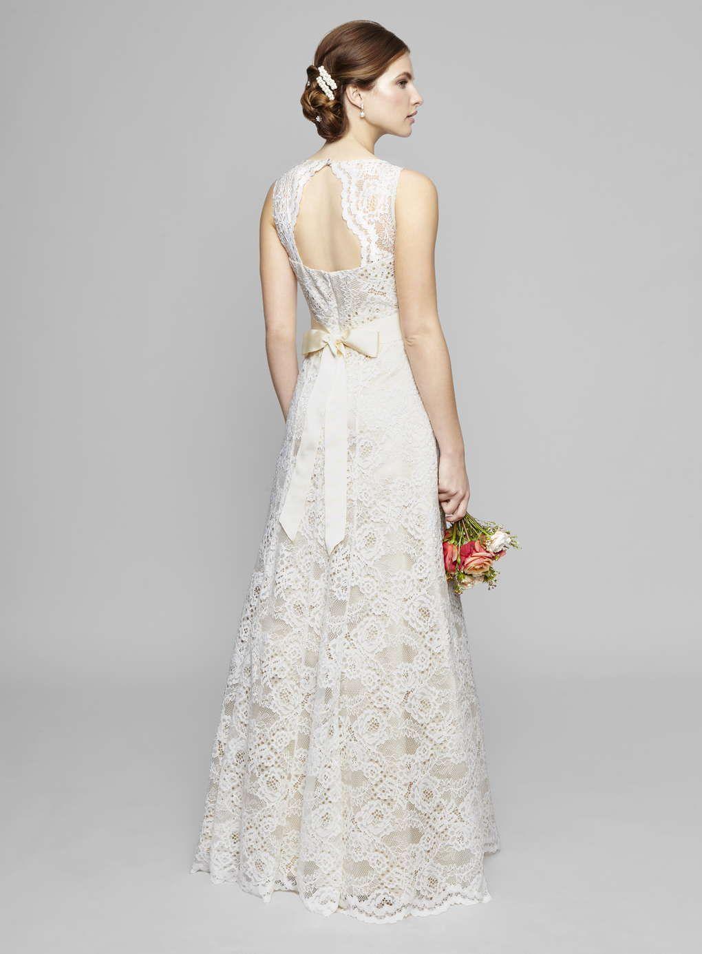 Ivory Bella Vintage Keyhole Wedding Dress Bhs Wedding Dresses High Street Wedding Dresses Best Wedding Dresses