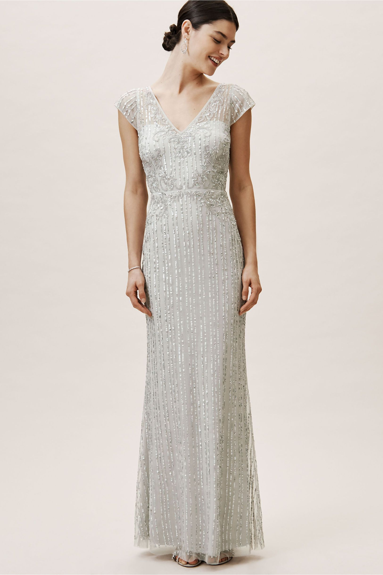 Calais Dress Morning Mist In Bridesmaids Bridal Party Bhldn