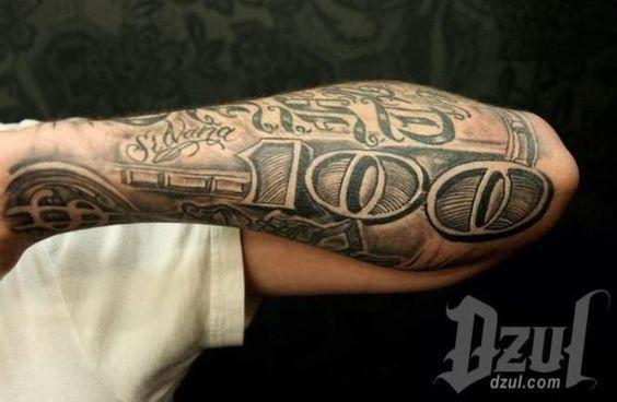 20 Dollar Tattoos Dollar Tattoo Money Tattoo 100 Dollar Bill Tattoo
