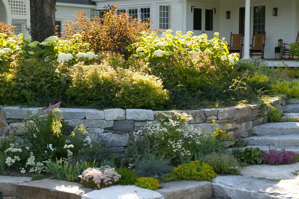 julie moir messervy design studio new hampshire farmhouse jmmds new england farmland vegetable gardens