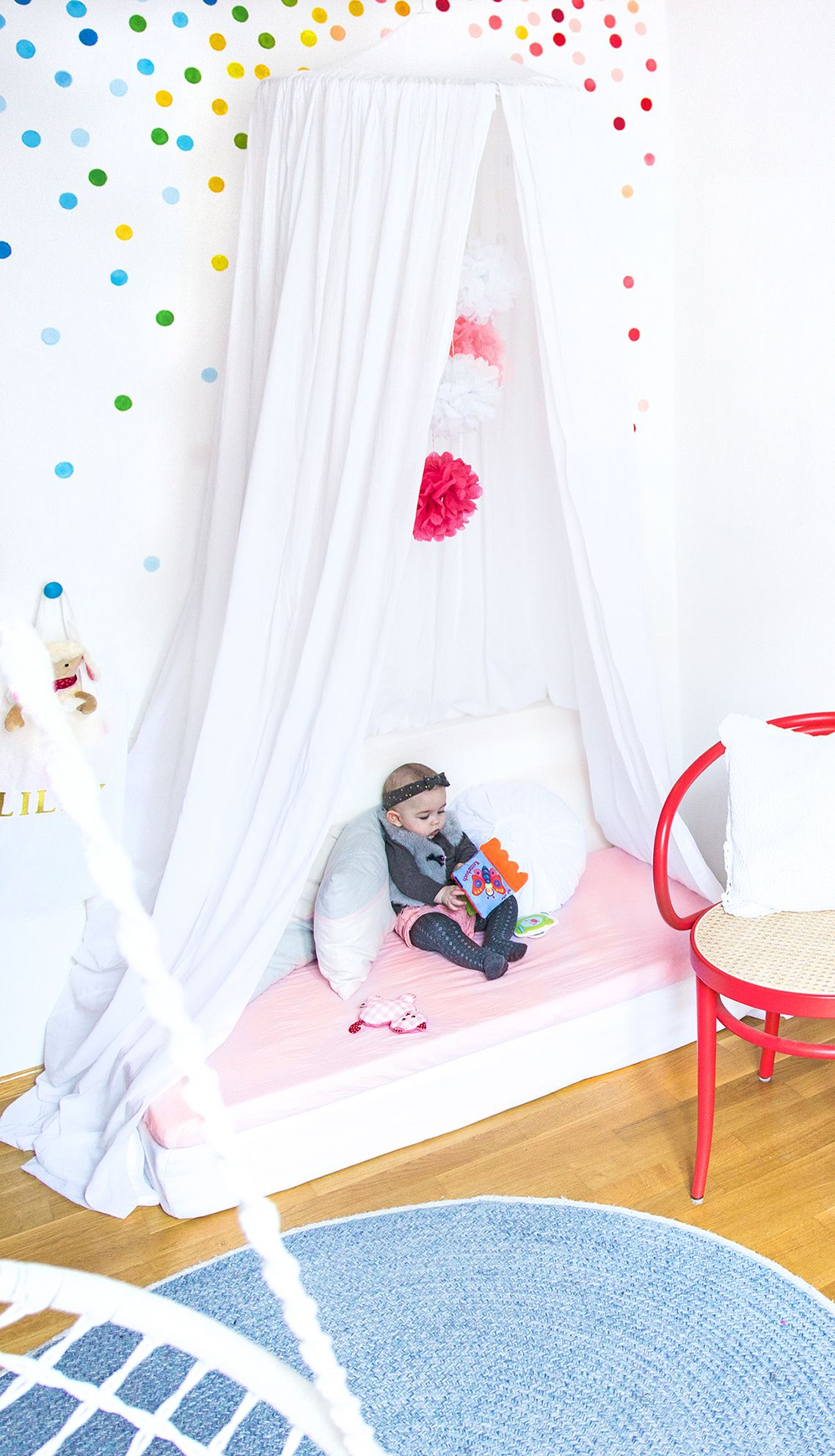 Kinderzimmer ideen meine drei liebsten diy tipps f r eine g nstige einrichtung kid 39 s room - Wandgestaltung im kinderzimmer ...