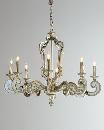 John richard collection architectural mirrored chandelier horchow john richard collection architectural mirrored chandelier horchow aloadofball Choice Image
