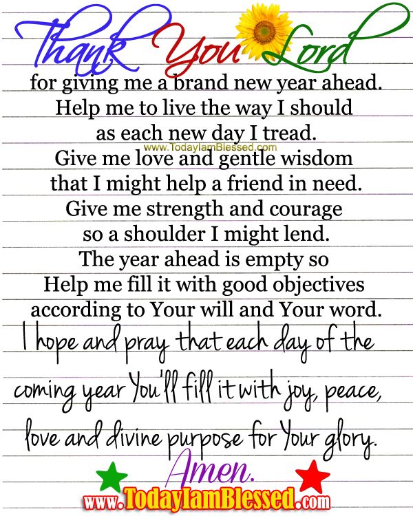 New Year Prayer 2014- Here\'s to making 2014 a better year ...