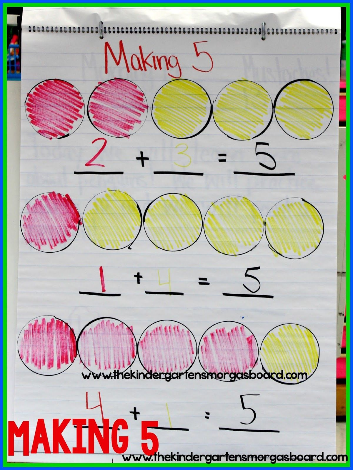 A Kindergarten Smorgasboard Making 5 Smedley S