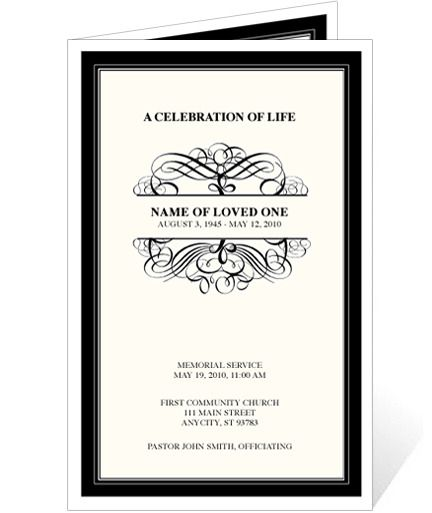 AO Signature Monogram Program Template Grandma Rosa Pinterest