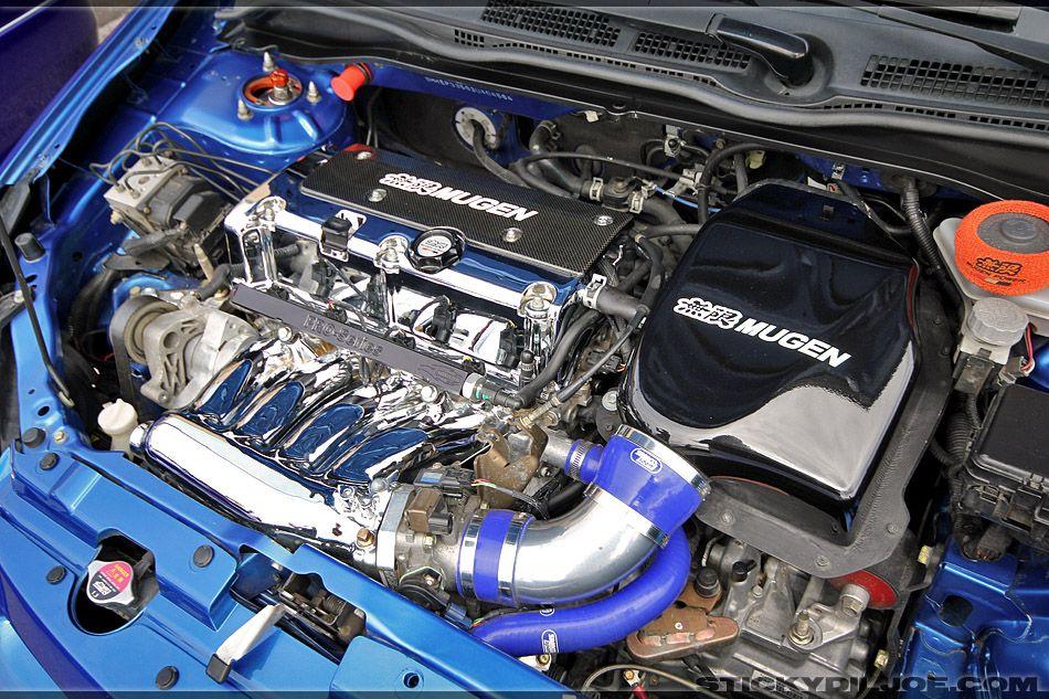 Dat engine bay... Honda civic type r, Honda civic, Honda