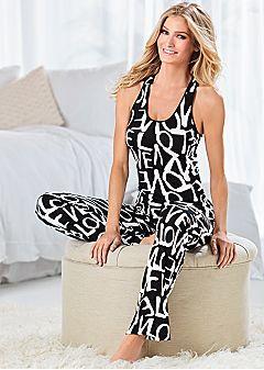 Ropa de noche de las mujeres: conjuntos de pijamas, camisones, polainas | Venus