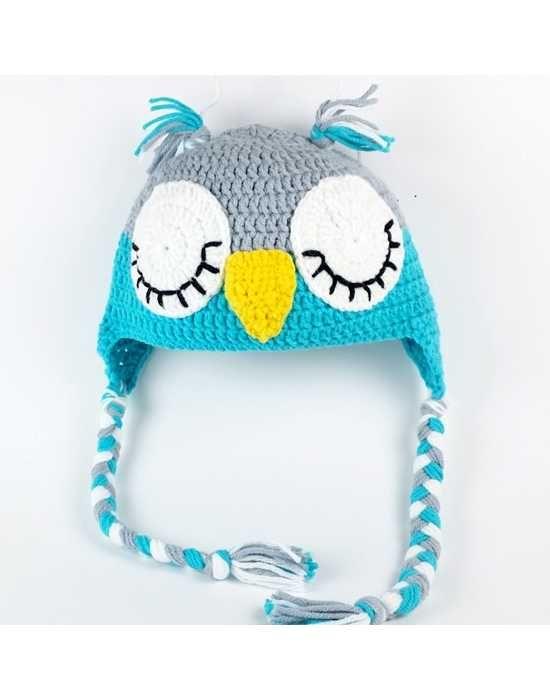 Gorro Búho Crochet | Ideas para recibir al bebé | Pinterest | Gorro ...