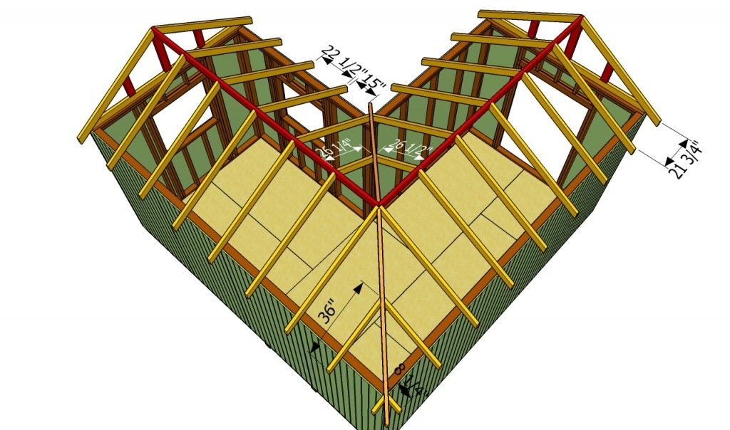 How To Build An L Shaped Roof We Are The They Home