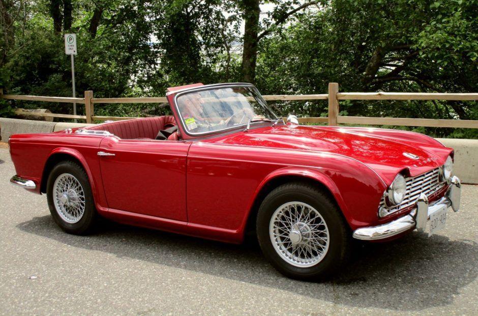 1963 Triumph TR4 Triumph, Classic cars online, Cool cars