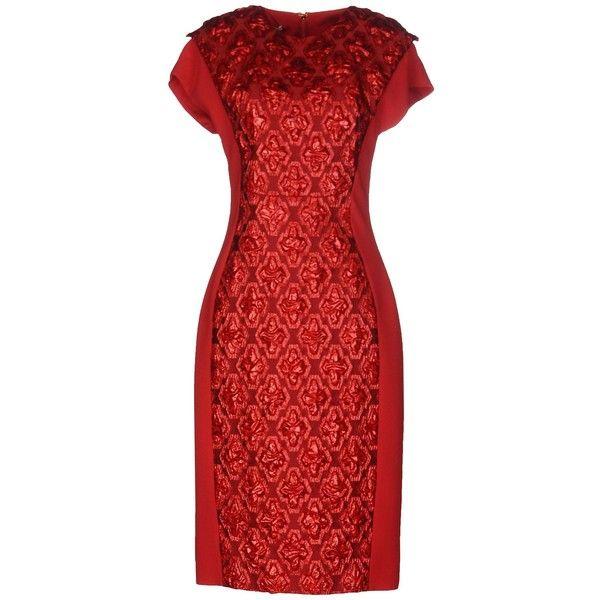 Antonio Berardi Knee-length Dress (€900) Found On Polyvore