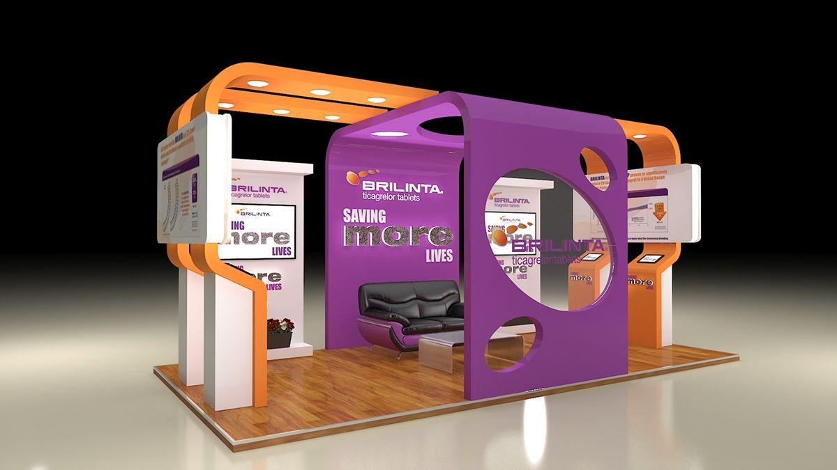 Https Www Behance Net Gallery 32994437 Astrazeneca Brilinta Exhibition Design Exhibition Design Exhibition Stand Design