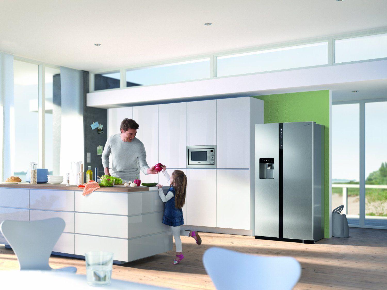Tolle Küche Mit Side By Side Kühlschrank Fotos - Die Besten ...