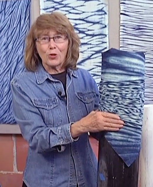 Ana Lisa Hedstrom offers a complete course on Arashi Shibori