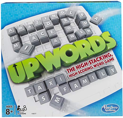Upwords Board Game The Exciting High