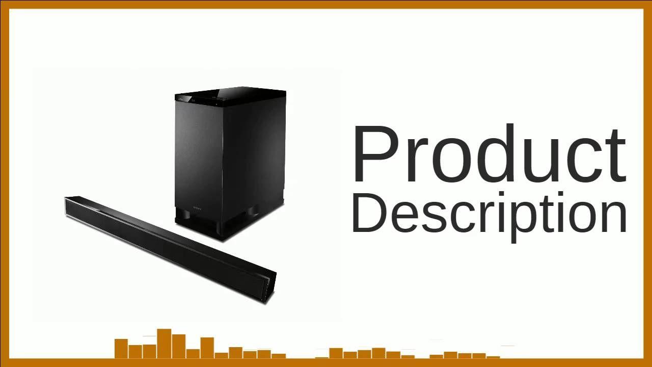 Sony HT-CT150 3D Sound Bar System
