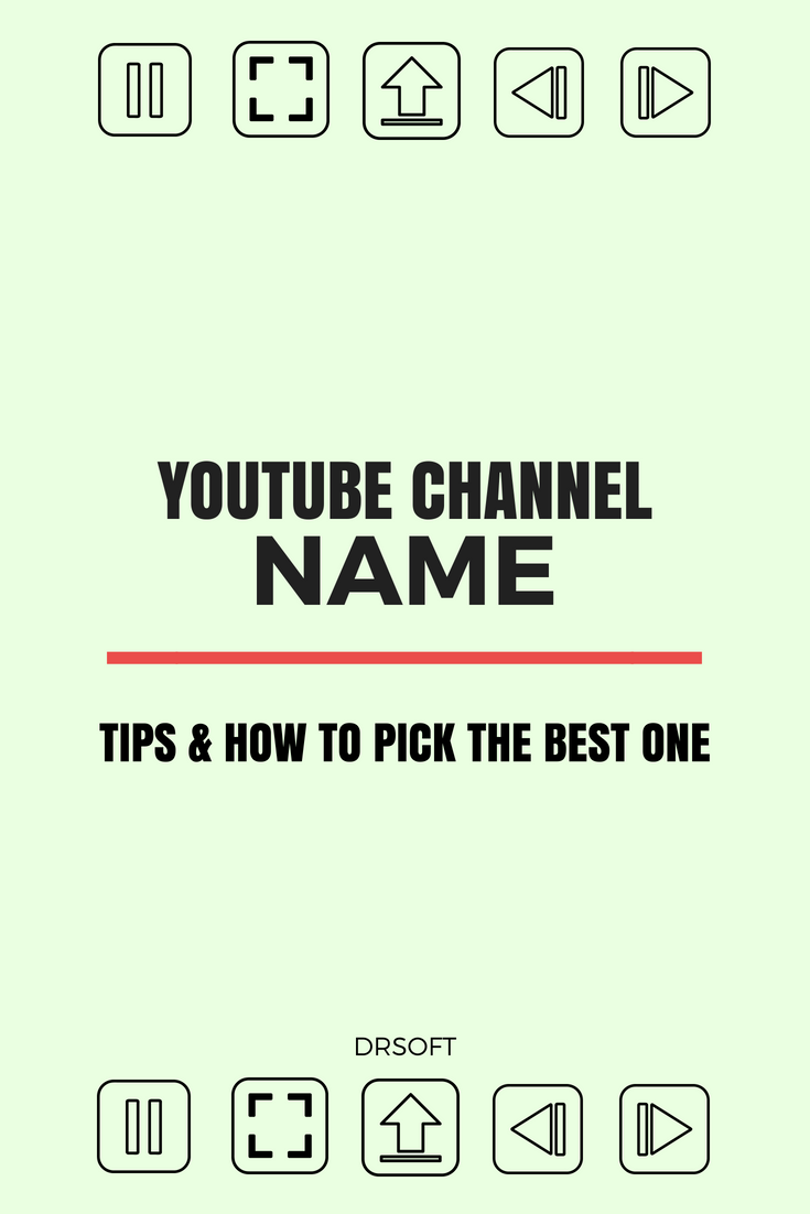 How to Come Up With the Best YouTube Channel Name | YouTube