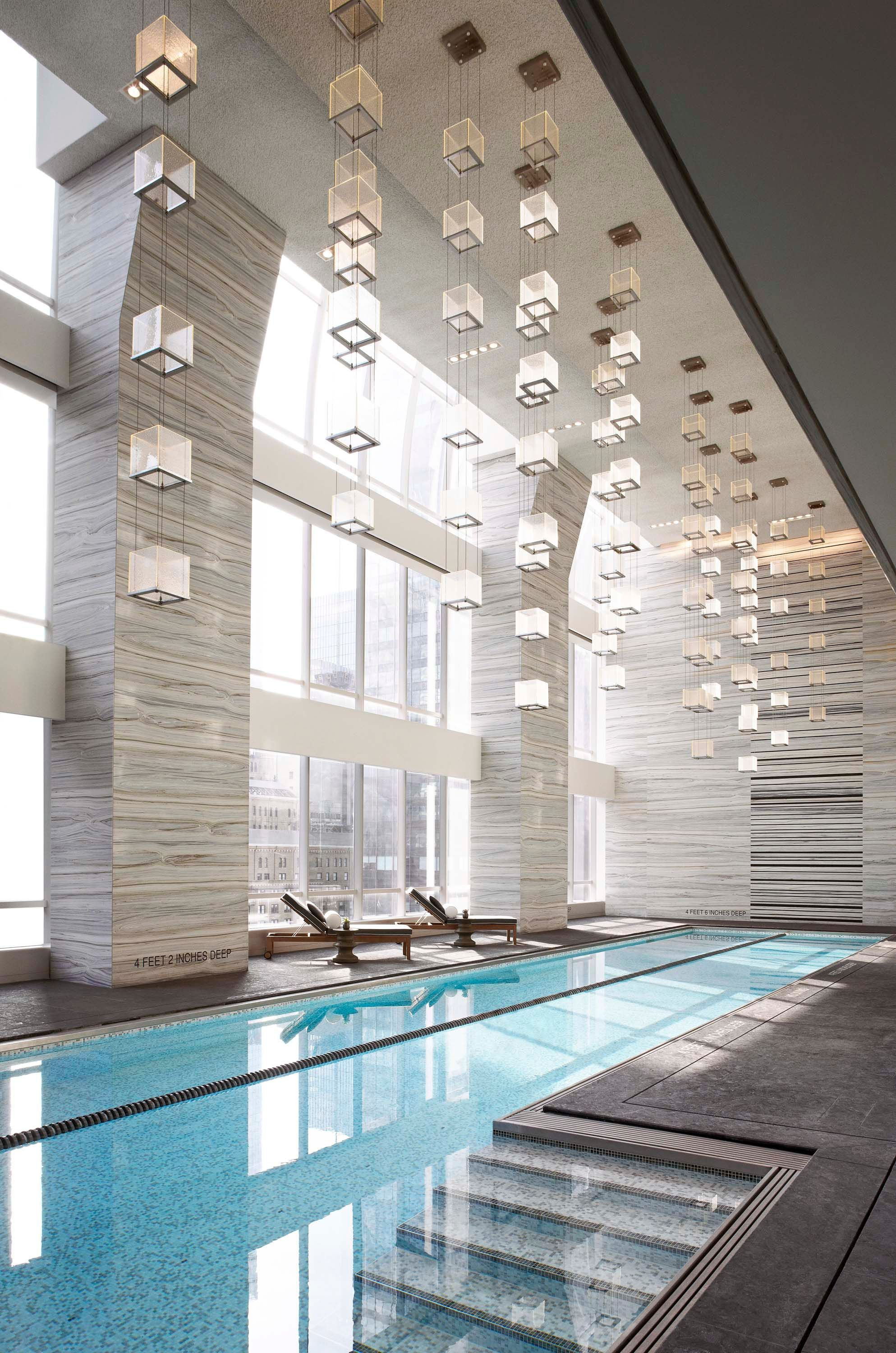 Park Hyatt New York - Spa Nalia - Midtown Manhattan | Schwimmen ... Spa Und Wellness Zentren Kreative Architektur