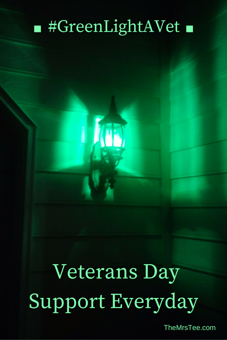 Greenlightavet Veterans Day Veteran Supportive
