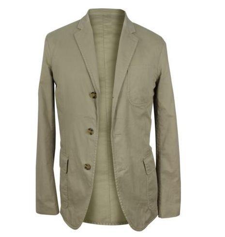 #Ralph #Lauren $298 NWT Beige Standard Notch Lapel #Denim #Jacket Size 40 #Men http://goo.gl/YADy34