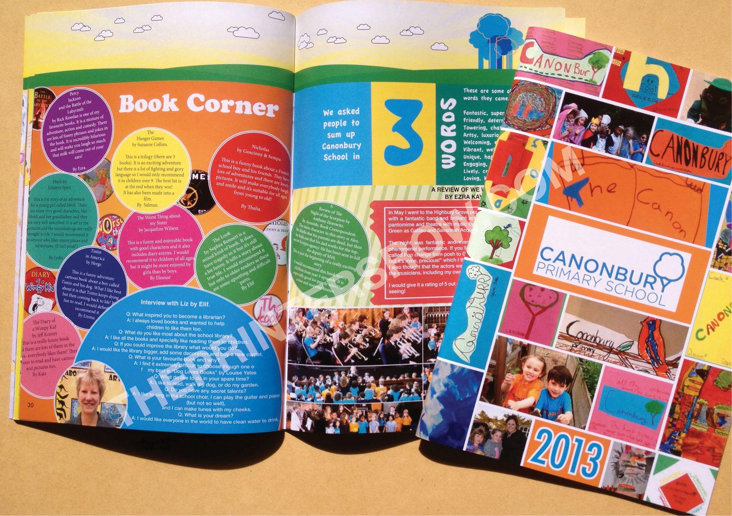 Primary School Yearbook