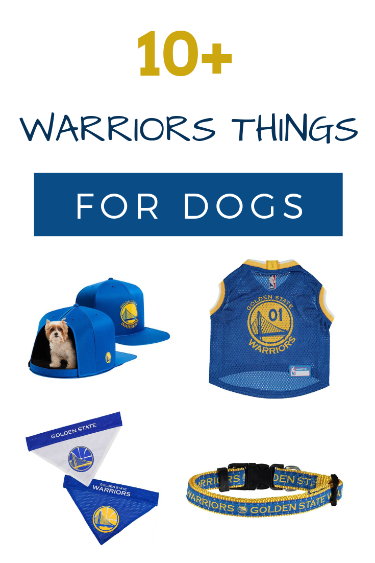 buy online 30cd4 bd9ed Golden State Warrior fans will love these dog fashion finds ...