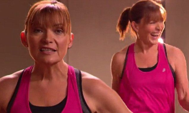 Lorraine Kelly 56 Praises The Workout That Helped Her Lose Two