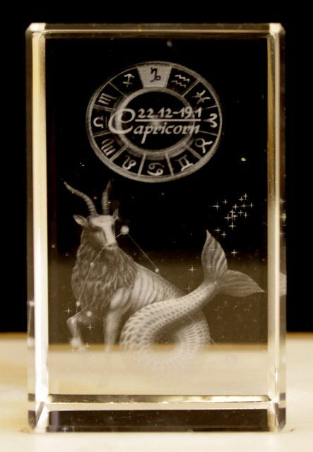 Buy Laser Crystal -Capricorn wholesale at ancientwisdom.biz Wholesale Star Sign Laser Blocks Wholesale Star Sign Laser Blocks.Each Laser Crystal is beautifully packed in a presentation box. The clarity and quality is about the best we have seen.You can tell the grade of the laser etching by how small the dots are - the smaller the dots the better the detail - it all adds to the magic.