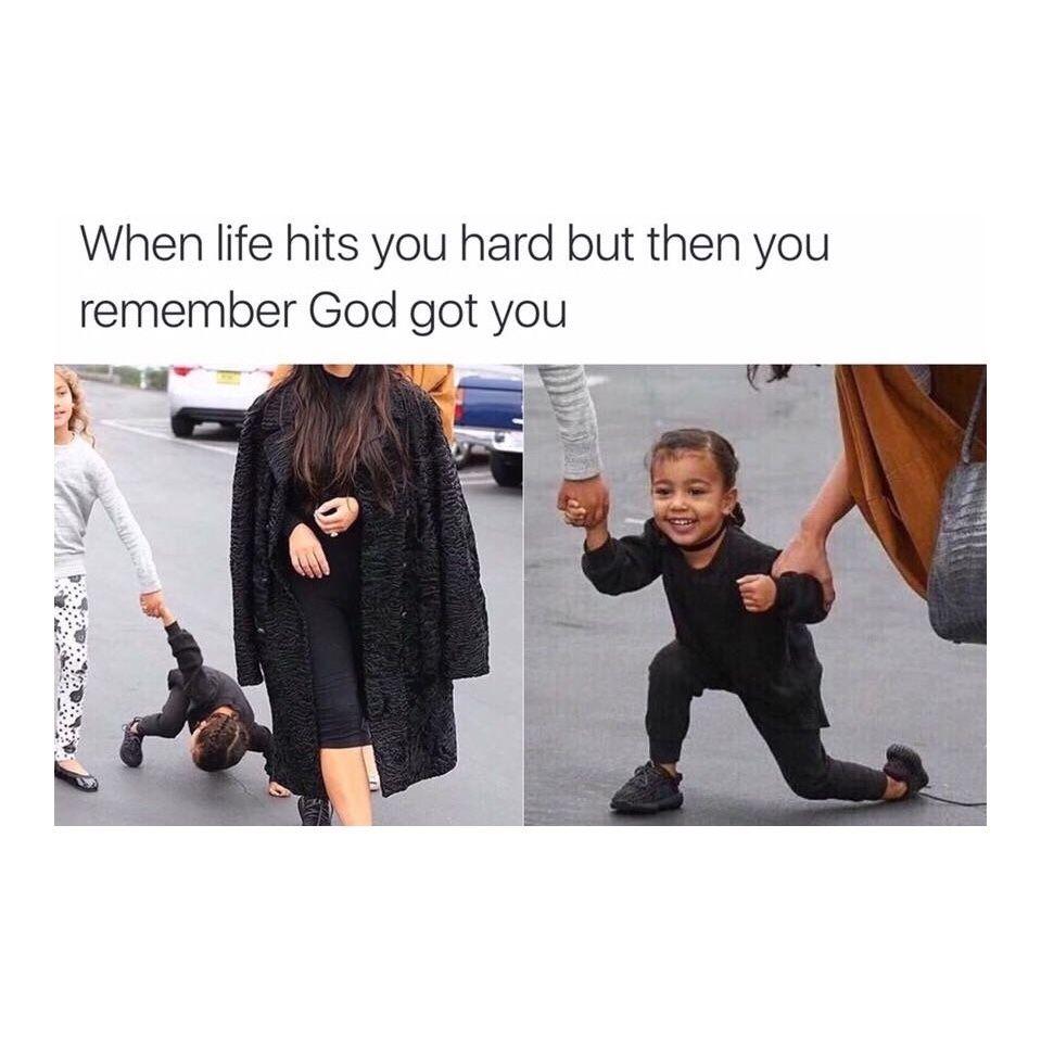 Pin By Erika Bennett On Humor Other Things Kardashian Memes Funny Relatable Memes Christian Memes