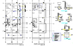 Water Plumbing Plan And Elevation Detail Dwg File With Images