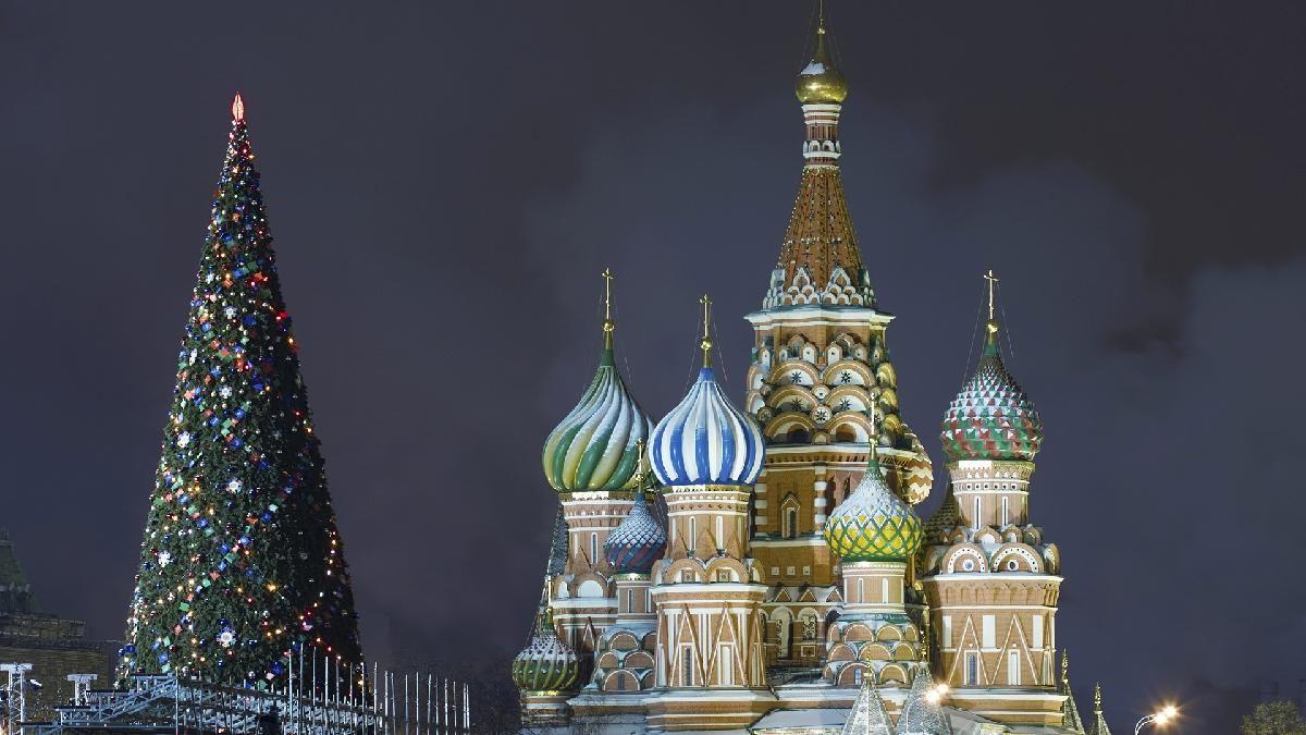 El Arbol De Navidad De Rusia Christmas Wallpaper Cathedral White Christmas Ornaments
