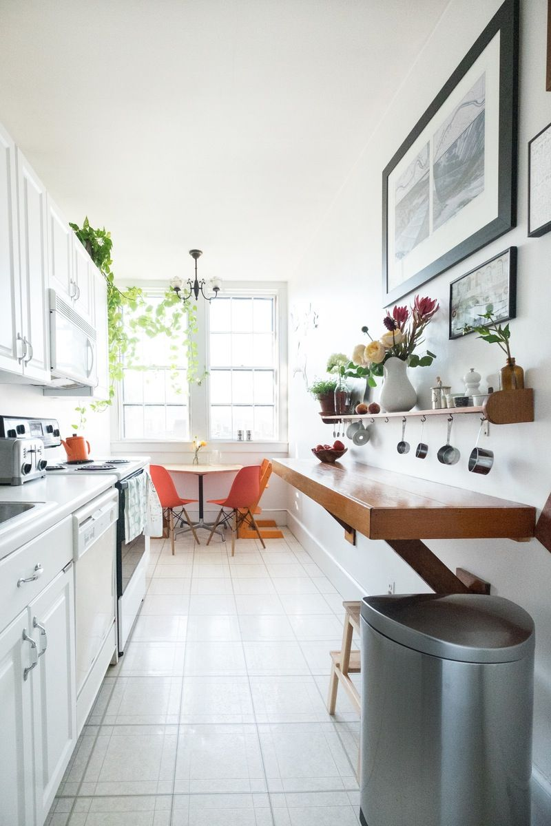 One Simple Shortcut to Cut the Clutter | Clutter, Narrow kitchen and ...
