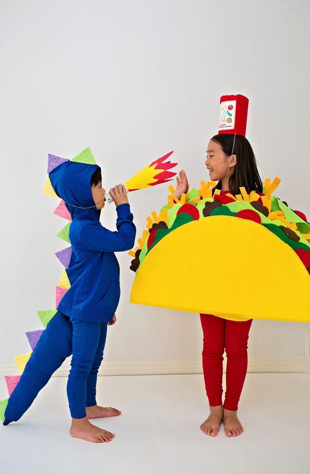 hello, Wonderful - DRAGONS LOVE TACOS DIY HALLOWEEN COSTUMES FOR - no cost halloween costume ideas