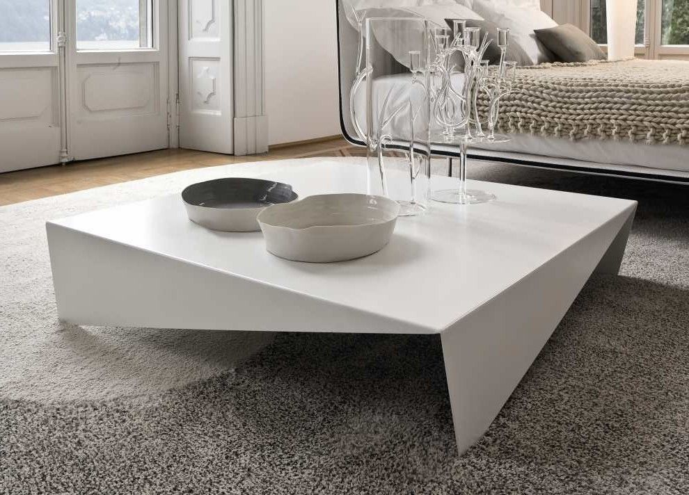 Square Gl Coffee Table Set