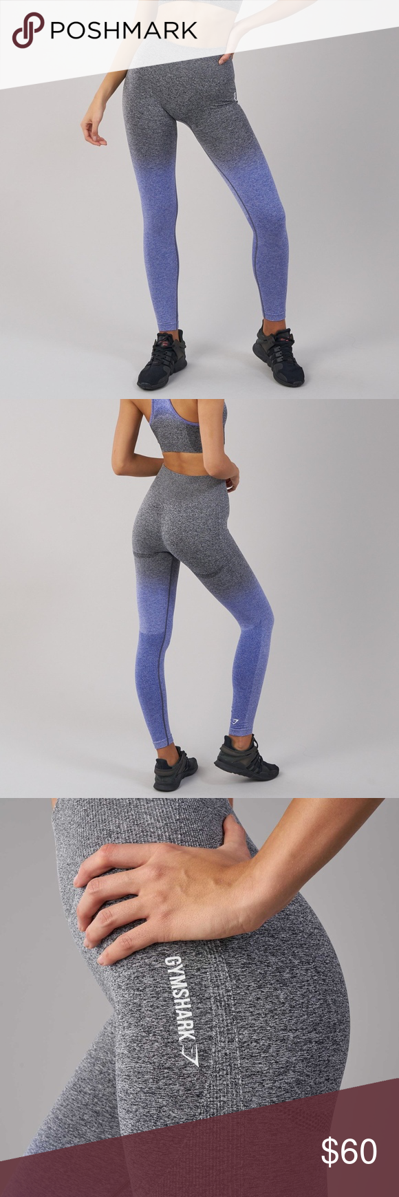 1e0c2085b645a3 Size S. Color is Indigo & Black. High waisted fit and glute enhancing  design offer second-to-none support, whilst DRY moisture management  technology ensures ...