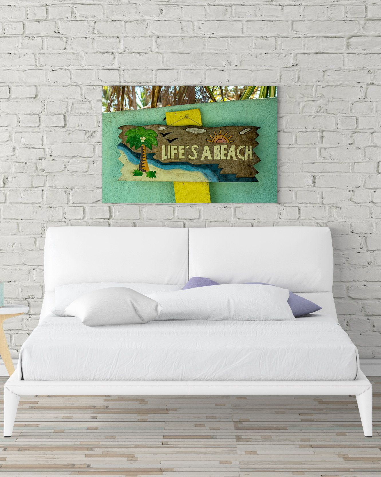 Beach Wall Decor, Beach Print, Beach Wall Art, Beach Decor, Life\'s A ...