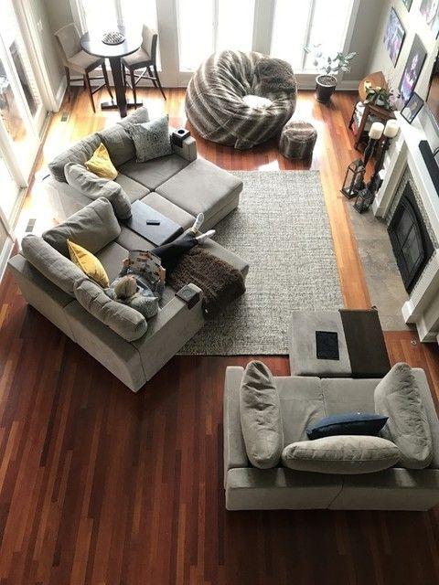 Giant Bean Bag Chair The Bigone Living Room Setup Couches Living Room Chic Living Room Design