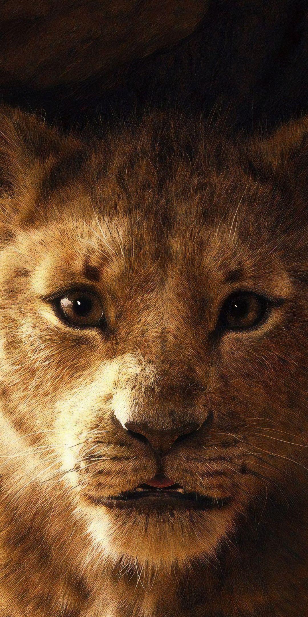 Simba The Lion King 2019 Movie 1080x2160 Wallpaper Carta Da Parati Disney Dipinti Disney Fotografia Con Animali