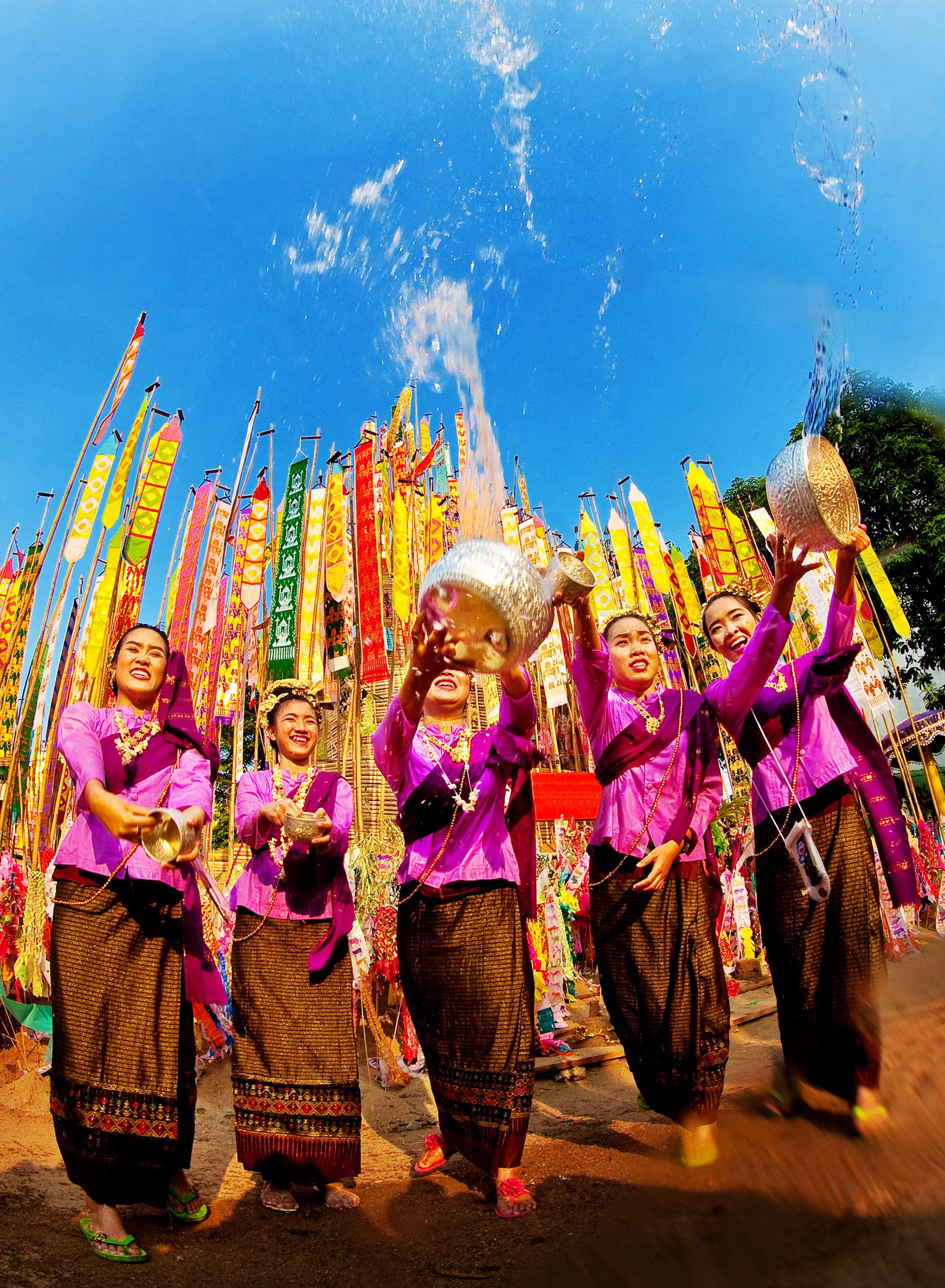 A Splashing New Year: The Songkran Festival   Thailand http://www.westernoriental.com/blog/splashing-new-year-songkran-festival-thailand/