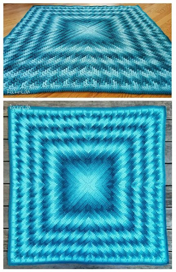 As Time Goes By baby blanket | Afghan Crochet Patterns | Pinterest