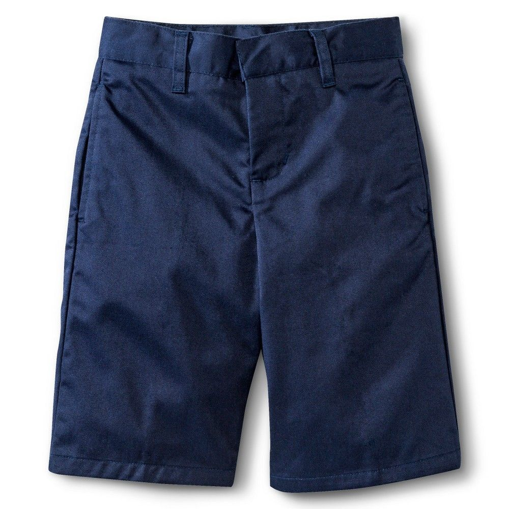 French Toast Boys' Flat Front Short Navy (Blue) 16, Boy's