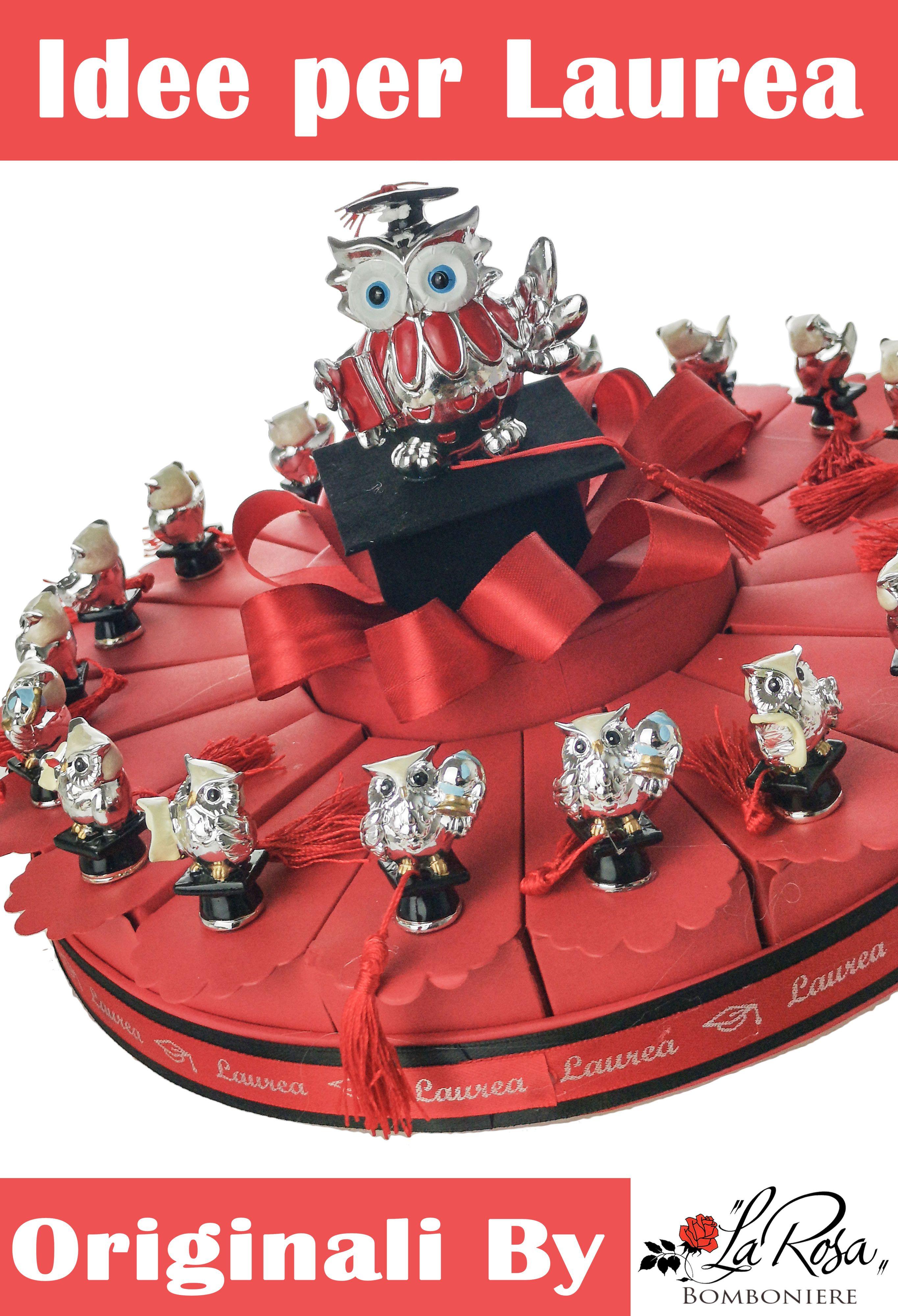 Bomboniere Laurea Fai Da Te Idee Bomboniere Laurea Originali By Bomboniere La Rosa Scopri Le Torte Di Bomboniere Laurea Original Laurea Idee