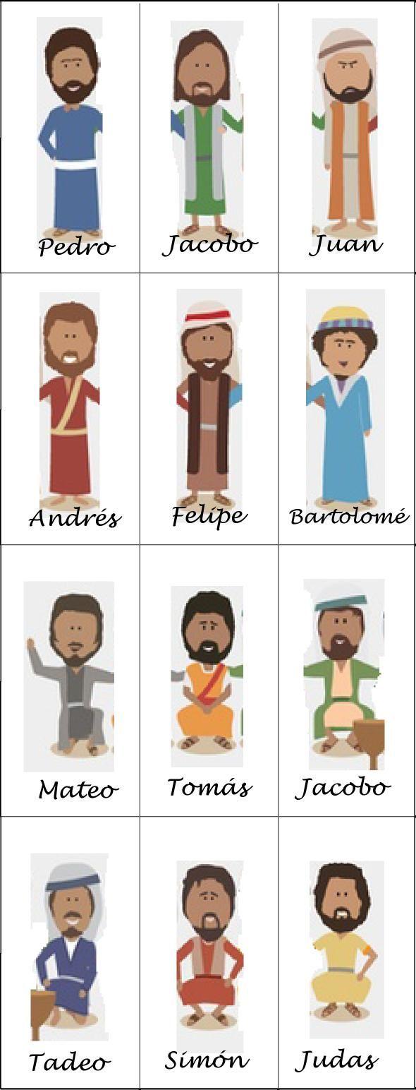 Los 12 Discipulos Historias De La Biblia Para Ninos Lecciones